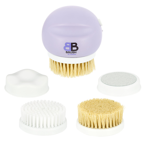 video BB BRUSH BY LILY&ROSE + Brosse Exfoliante